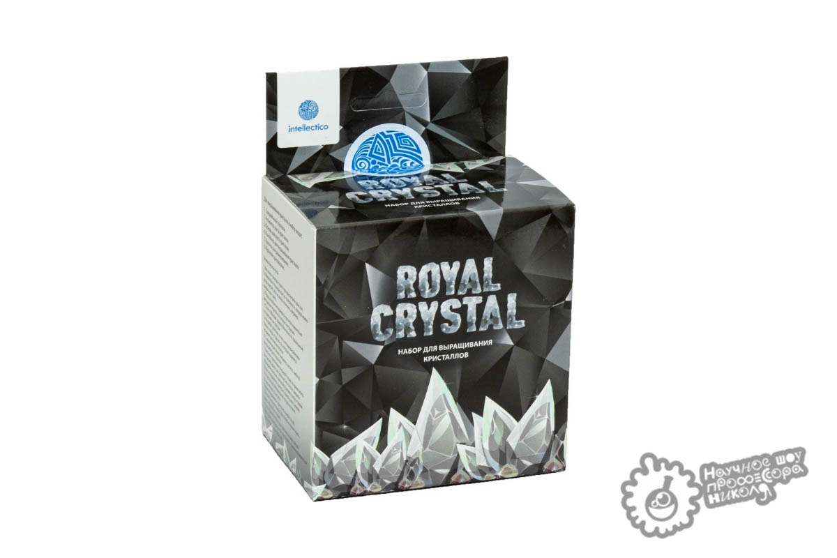 "Кристаллы ""Royal Crystal"" серебристый"